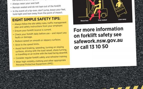 Safety for Forklift Operators - page 2